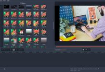 Screen Effect with Movavi Video Editor