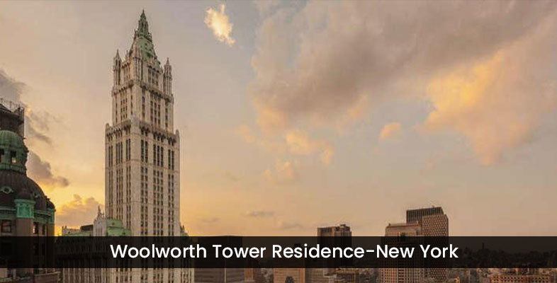 Woolworth Tower Residence-New York
