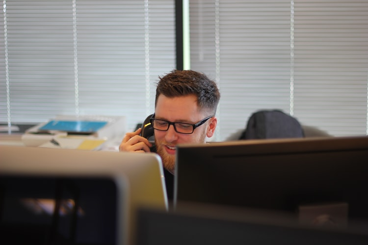 Which business should use phone services?